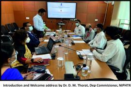 MOU Between NIPHTR and Sathya Sai Sanjeevani Trust