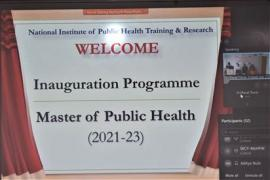 Inauguration Programme of Master of Public Health (AY 2021-2023)